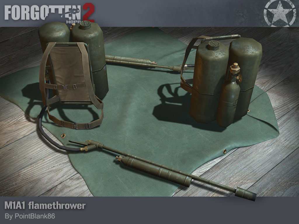 M1A1 Flamethrower  M1 Flamethrower