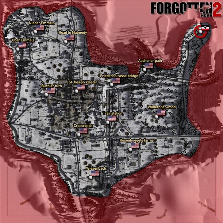 Forgotten Hope - Maps