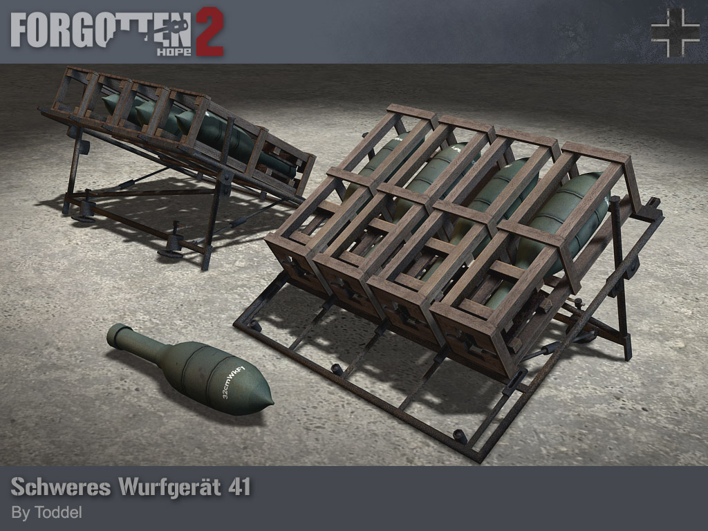 Forgotten Hope 2 Wurfgerat41