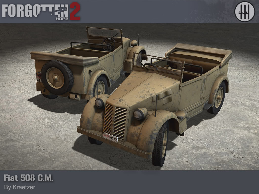 The Fiat 508 started life a