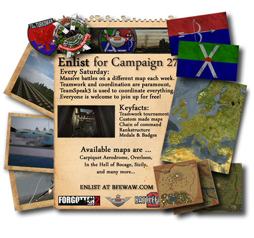 Join the World at War Campaign 27